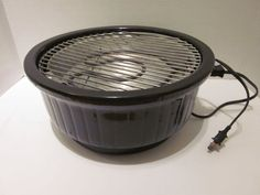 Rival Indoor Crock Grill Tested Smokeless Electric BBQ Black Model 5750 Complete…