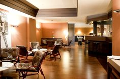 Coin salon  du New Hotel Charlemagne