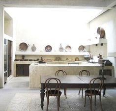 tadelakt kitchen - Google Search