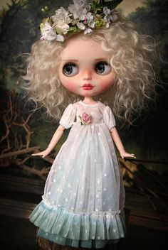 It is great to be back after long summer break.^__^ I did not have a chance to properly introduce Fay a Woodland Fairy.