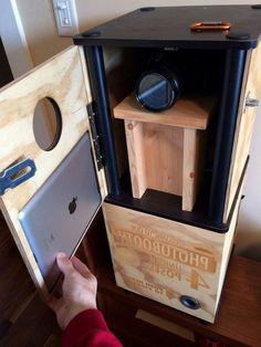 Fotobox bauen mit Kamera und iPad