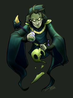 boomsheikas-art-blog | I just need more maskless Plague Knight.