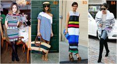 Miroslava Duma white stripes