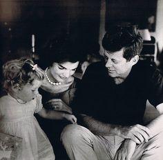 Jack, Jackie, and Caroline