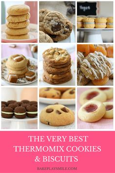 Say hello to the BEST Thermomix Biscuits & Cookies in the world! Yep, these top 10 recipes are going to blow your sugar-filled mind. They're quick, easy, and most importantly, they taste AMAZING! So whip out your Thermomix and get baking… Cantaloupe Recipes, Radish Recipes, Thermomix Desserts, Köstliche Desserts, Biscuit Cookies, Biscuit Recipe, Cheddarwurst Recipe, Frangipane Recipes, Cookies