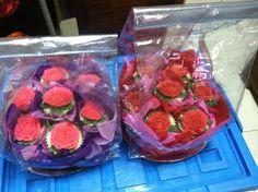 Flower bouquet cupcakes16