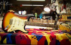 Fender Roadworn Series Strat - Fret Dressing and Setup