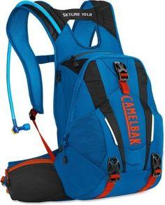 CamelBak Skyline 10 LR Hydration Pack - 3 Liters Imperial Blue/Black 100 Fl Oz