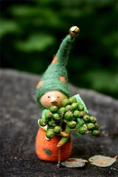 Autumn Gnome by Kotyasya