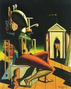 Giorgio De Chirico,The predictor, 1916