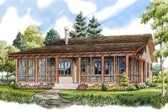 Best House Plans, Small House Plans, Cottage House Plans, Cottage Ideas, Modern Farmhouse Plans, Cabin Plans, Build Your Dream Home, Square Feet, Floor Plans