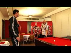 Martin Kelly v Jonjo Shelvey at Pool  with special guest appearance by Jamie Carragher
