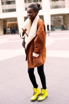 NYC Street Style Winter - Shop this Outfit via http://StyleSays.com
