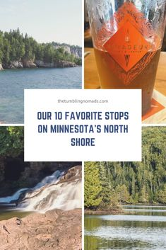 Minnesota's North Shore: Our 10 Favorite Stops - The Tumbling Nomads Minnesota Funny, Minnesota Camping, Minnesota Tourism, Duluth Minnesota, Minnesota Vikings, Michigan, Grand Marais Minnesota, Minnesota Landscaping, Two Harbors