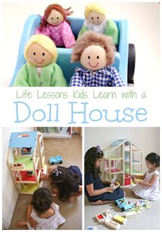Life Lessons Kids Learn with a Dollhouse