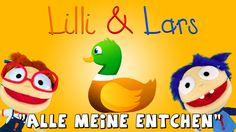 Alle meine Entchen schwimmen auf dem See - Lilli und Lars - Kinderlieder...
