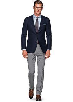 Elegant man, urban fashion, big men fashion, suit fashion, blazer o Big Men Fashion, Mens Fashion Suits, Mens Suits, Urban Fashion, Blazer Outfits Men, Blue Blazer Outfit Men, Moda Formal, Mode Costume, Herren Outfit