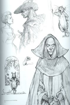 Art You Glad? - aweyeahartbooks: Scans from Iain McCaig's...
