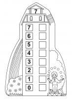 Состав числа семь. Картинка числового домика First Grade, Math Activities, Jasper, Preschool, Teaching, Holiday Decor, Math Resources, Kid Garden, Kindergarten