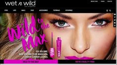 Wet n wild beauty has revamped its website.