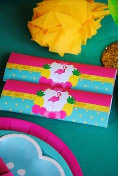 FLAMINGO Party - Flamingo SIGN- Flamingo Printables -TIKI Sign - Flamingo Birthday - Pineapple - Luau Party