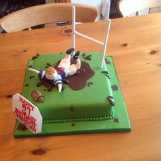 Cool rugby cake