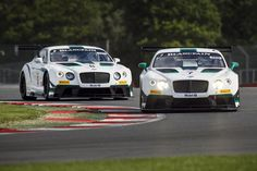 Racing Bentleys...
