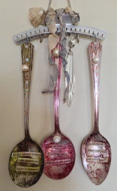 Assemblage Spoon Story