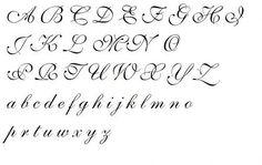 alfabet ozdobny do tatuazu - Szukaj w Google