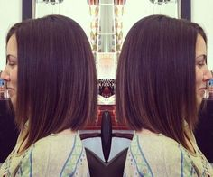Straight+A-Line+Bob+Haircut+for+Shoulder+Length+Hair
