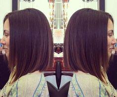 Straight A-Line Bob Haircut for Shoulder Length Hair