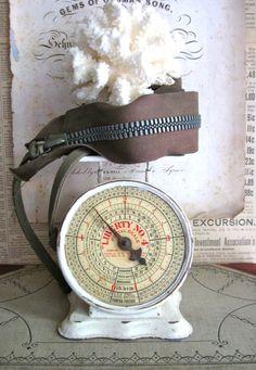 Vintage postal scale.
