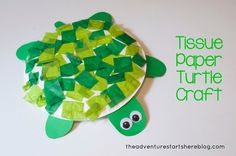 Turtle craft for toddlers | The Adventure Starts Here