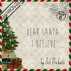 Believe by Ast Products. Believe and you will receive. The true meaning of Christmas!