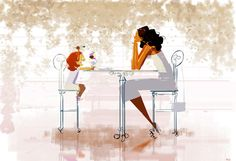 The Ice Creamer! #pascalcampionart - I love going out for Ice Cream with you mom. -Why's that? -'cause you never eat your ice cream!