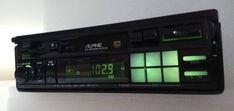 Alpine 7292MS Retro Old School AM/FM Cassette Tape Pullout Car Stereo Radio #Alpine Hifi Audio, Car Audio, Alpine Car, Car Amplifier, Radios, Vintage Cars, Old School, Climbing, Classic Cars