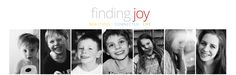 "rachelmariemartin.blogspot.com ... ""Finding Joy"" LOVE this blog. Definitely will be one of my go-to's. =)"