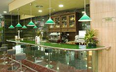 Cafetería Bar Palm Bay  Hotel Florida Spa. Fuengirola, Costa del Sol. SPAIN