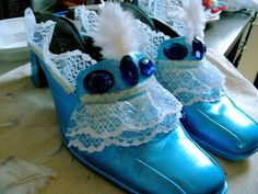 French court shoes for Marie Antoinette costume