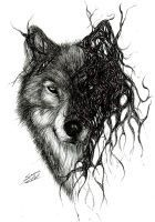 Wolf by Mixielion