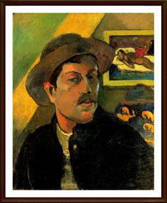 15. PAUL GAUGUIN (1848-1903) – Una de las figuras más fascinantes de la historia de la pintura, su obra se movió entre el impresionismo (que pronto abandonó) y el simbolismo, colorista y vigoroso, de sus obras en la Polinesia. Hoy en día, Matisse y el fauvismo no pueden comprenderse sin la obra de Gauguin