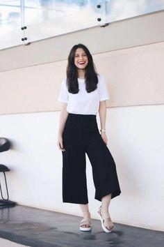 59 Minimalist Outfit to Inspire your Own Sleek Look - CharMino Fashion Guys, Trendy Fashion, Korean Fashion, Fashion Outfits, Womens Fashion, Style Fashion, Fashion Trends, Fashion 2015, Fashion Pants