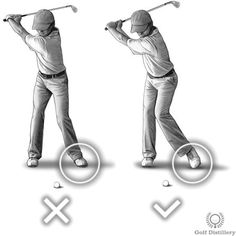 Allow the heel of your left foot to come off from the ground during the backswing. This is in contrast to keeping the whole sole of your foot squarely on the ground throughout your entire swing.