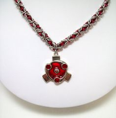 naruto mens necklace Sharingan anime naruto by Eternalelfcreations, $40.00