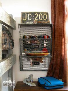 Vintage+Industrial+Teen+Bedroom+Makeover