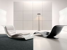 For the fireplace lounge chairs  Minimalist Lounge Chair by Desiree - Eli Fly