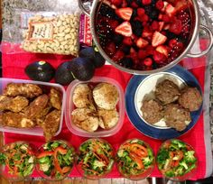 #mondaymotivation: clean eating and #paleo on a budget: this is what $80 looks like...