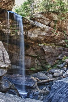 Eagle Falls, near Cumberland Falls in Kentucky, USA Beauty in my backyard I am so blessed to live in Eastern Kentucky and be close to such beautiful places! #AmericaBound  @Sheila Collette Farm