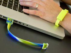 8GB USB Flashdrive Wristband