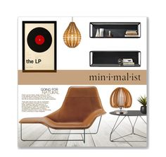 """""""Min.i.mal.ist"""" by leanne-mcclean ❤ liked on Polyvore featuring interior, interiors, interior design, home, home decor, interior decorating, Design Within Reach, CB2, Dot & Bo and Grado"""